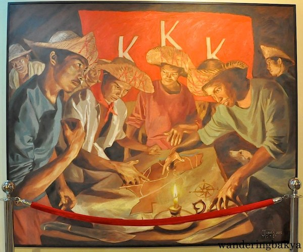 Katipuneros planning their next move
