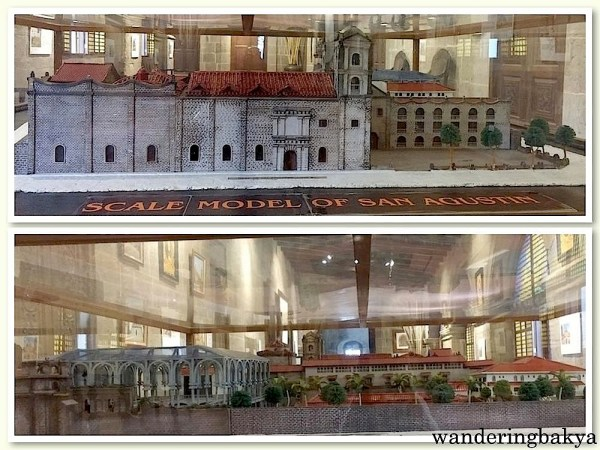 Scale Model of San Agustin, front and back views
