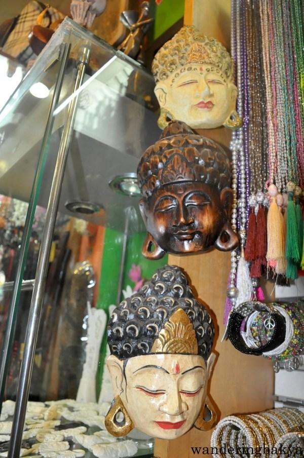 Masks, IDR 300,000 (US $23.13), Legian Street