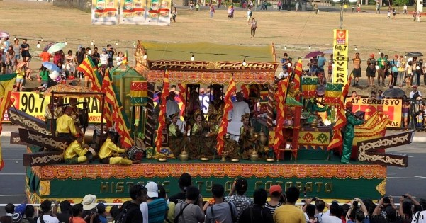 Float from Cotabato Province