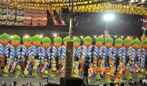 Meguyaya Festival of Upi, Maguindanao placed 5th at the Aliwan Fiesta 2015.