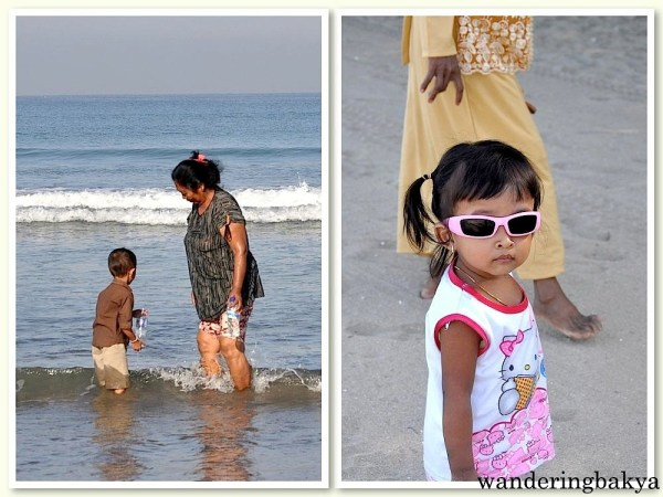 Kuta Beach is kid-friendly