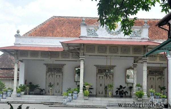 One of the pavilions found in Kraton. Nobody is allowed to enter this pavilion because it is for the Sultan's family.