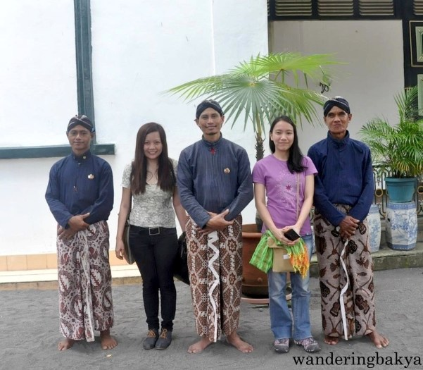 Virg and I with the staff of Kraton.