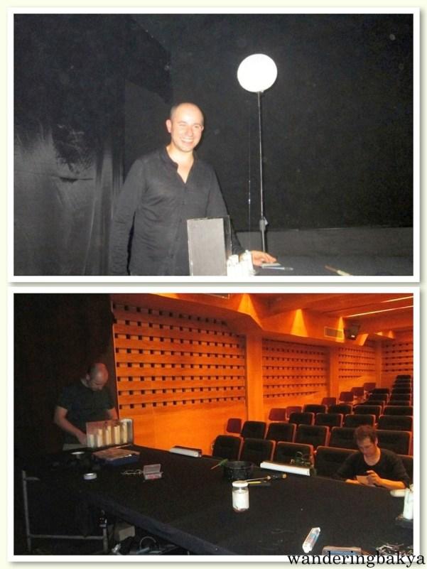 Behind the scenes with David Durán and Àngel Fígols. Photos by SPRDC.