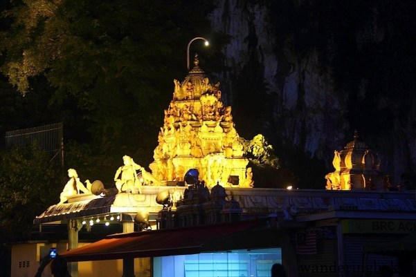 Entrance Shrine at Batu Caves, Kuala Lumpur
