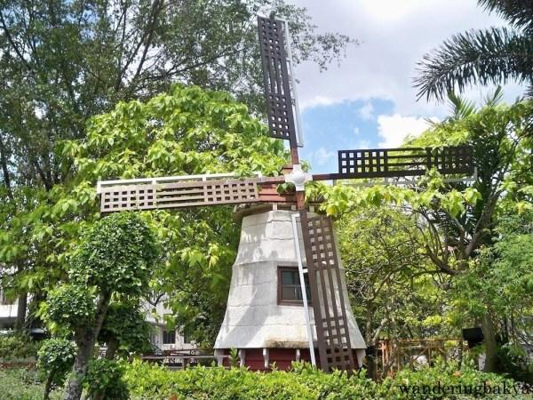 Dutch mill in Melaka