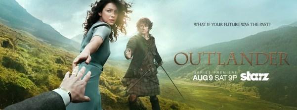 Outlander TV series poster. Photo from forum.dvdtalk.com.