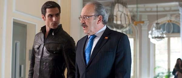 Álex and Enrique of Sin Identidad. Photo from cines.com.