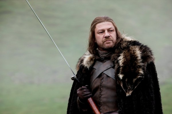 Ned Stark, the moral compass of Game of Thrones. Photo from hbowatch.com.