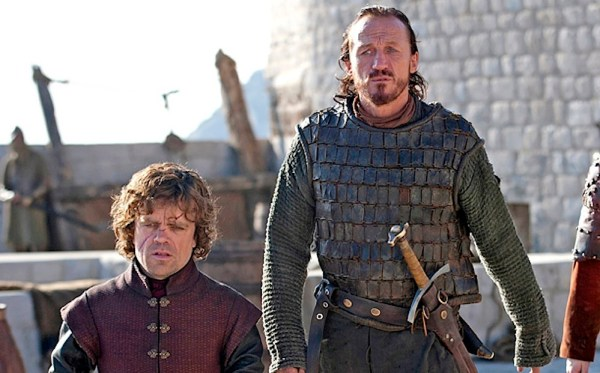 Tyrion and Bronn. Photo from reddit.com.