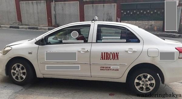 Taxi in Metro Manila