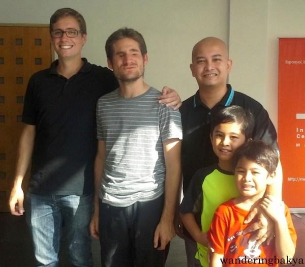 Juan Manuel, Sergio, Jay, Jacob, and Cody. Photo by SPRDC.