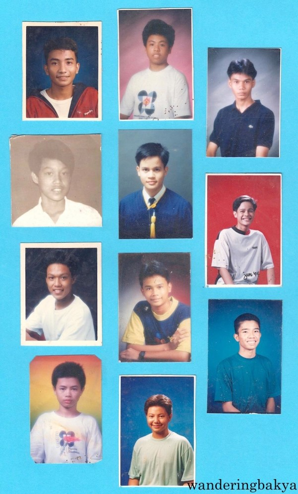 My boy classmates. Photos courtesy of Jed.