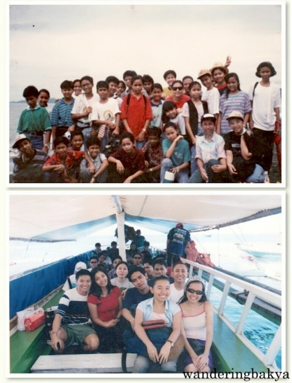 Guimaras trips. The bottom photo was taken years after we finished high school. We swam, played mah jong and then spent the night in a dilapidated two-storey bamboo house. Photos courtesy of Jed.