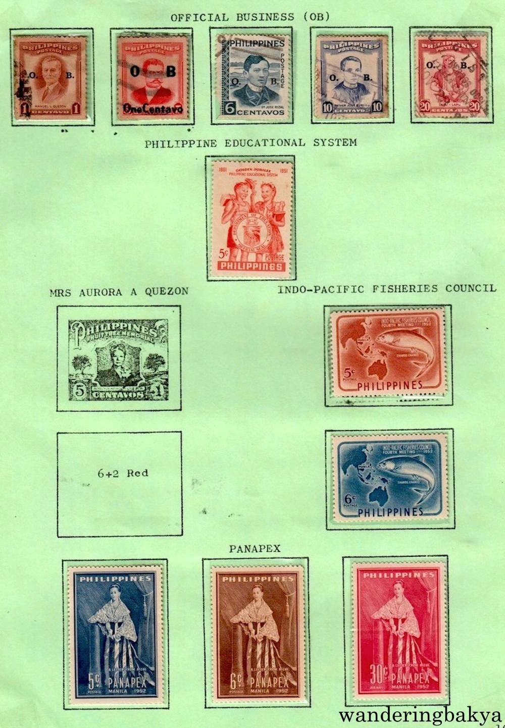 Periodic Collection Of Philippine Stamps Part I