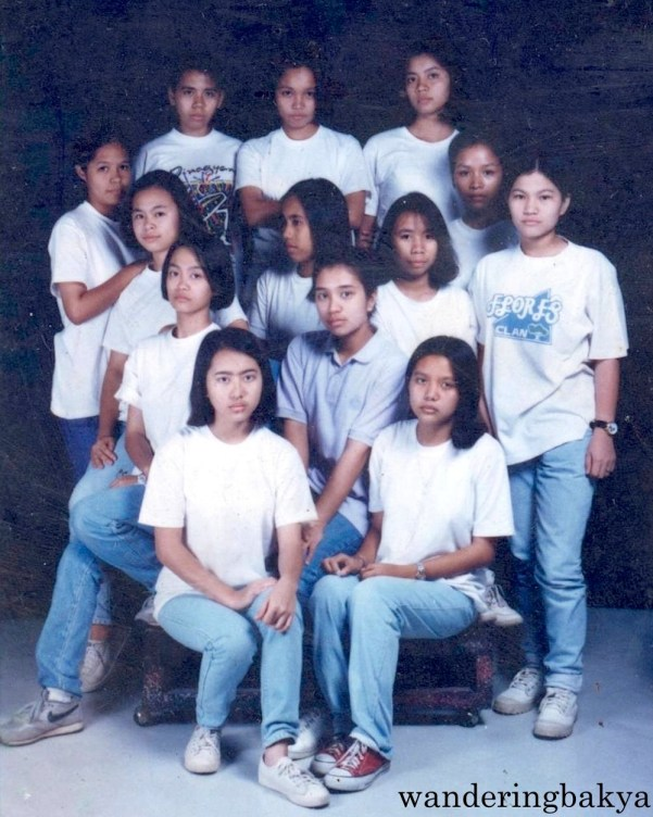 The tough girls of Pisay - the CAT officers. Photo courtesy of Jed.