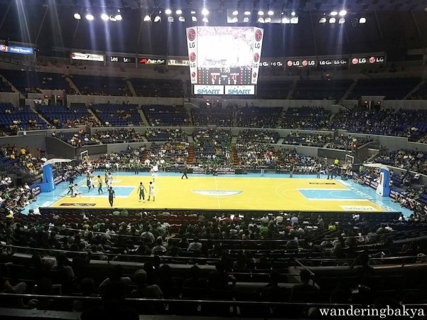 The Araneta Coliseum. I took this photo two seconds after I entered Upper Box A.