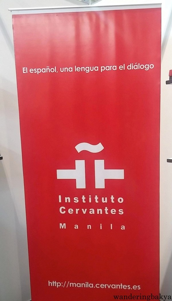 Instituto Cervantes Manila occupied a booth to entertain those interested in learning Spanish. More on this next entry.