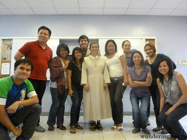 My very first photo at ICM. Level 3 with Sister Doris. Photo by David.