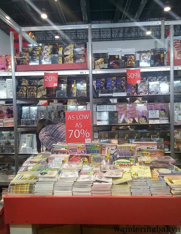 One of the more popular publishers was Psicom. Not shown on this photo, but there were many teenagers toting its books.
