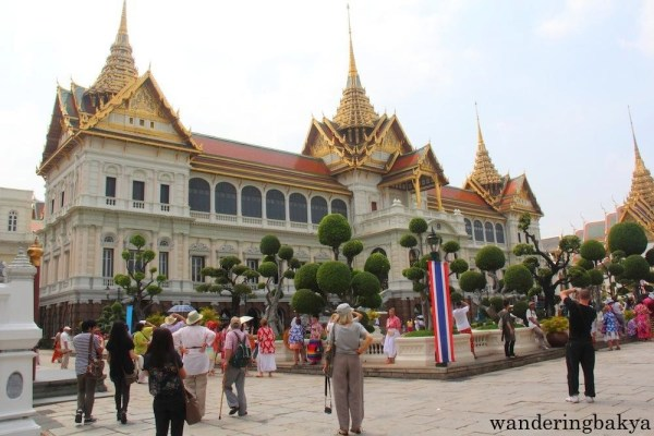 The Chakri Maha Prasat in The Grand Palace