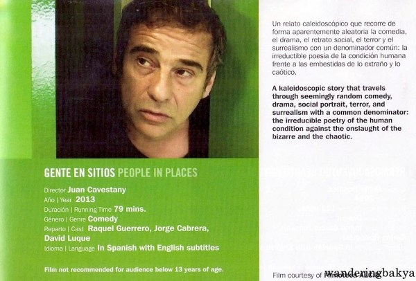 Summary and other details of Gente en Sitios (People in Places) by Juan Cavestany