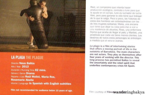 La Plaga (The Plague) directed by Neus Ballús, 2013