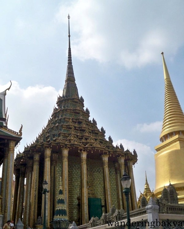The Phra Mondop or the library built by King Rama I.