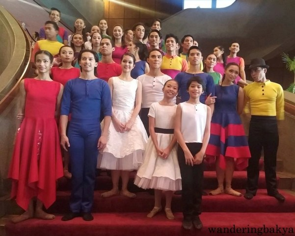 The cast of Ballet Philippines' Sarong Banggi after their October 18, 2015 performance