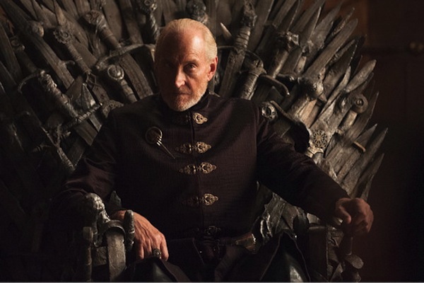 Game of Thrones' Tywin Lannister. Photo from blogs.wsj.com