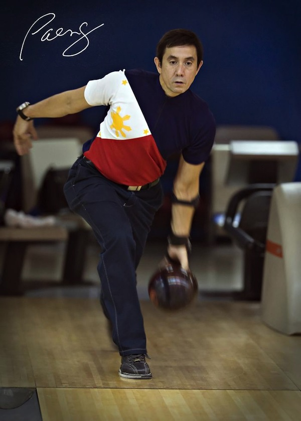 """Rafael """"Paeng"""" Nepomuceno won the Bowling World Cup a record four times. Photo from paengbowling.com"""