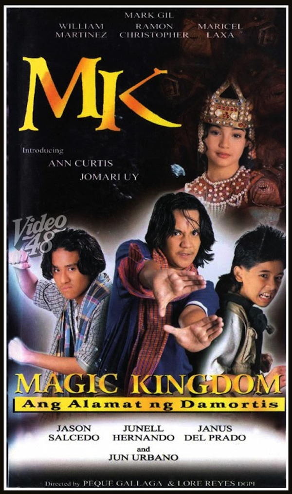 Star Cinema's Magic Kingdom is Anne Curtis's first movie. Photo from pinoymovies.ph