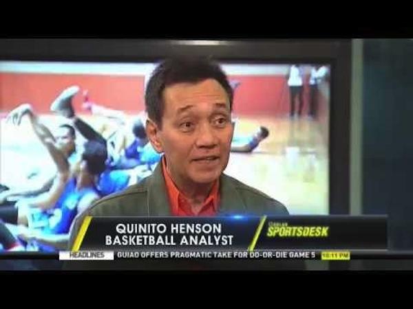 Sports analyst Quinito Henson. Photo from youtube.com