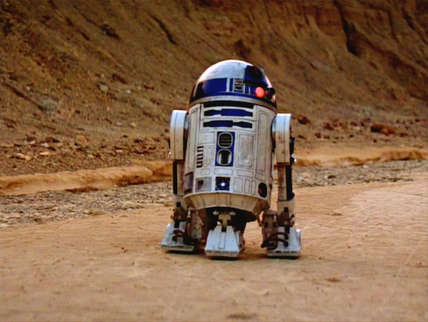 Star Wars' R2-D2. Photo from concentrate.co.nz