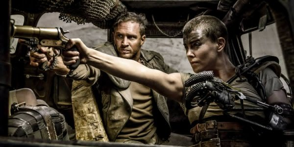 Mad Max: Fury Road's Max Rockatansky (Tom Hardy) and Imperator Furiosa (Charlize Theron). Photo from comicbook.com