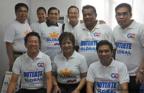 Duterte Global supporters at MRRD NECC National Headquarters
