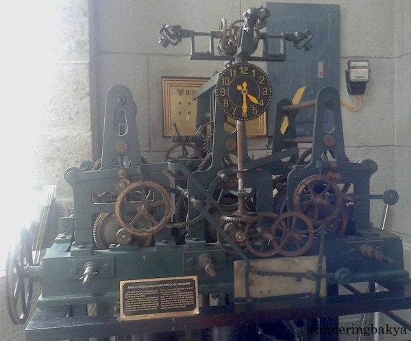 The Manila Cathedral-Basilica (MCB) Tower Clock Mechanism