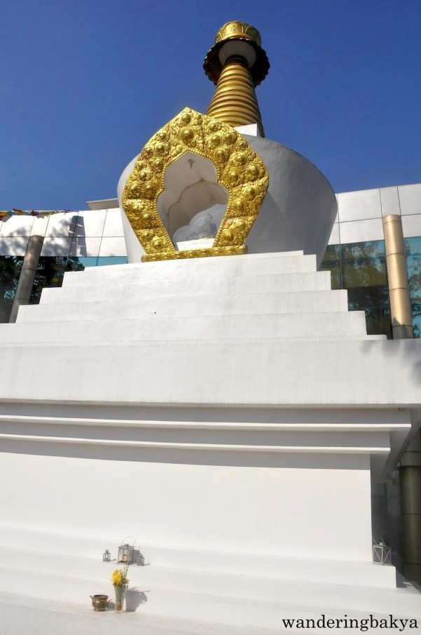 A closer look at the stupa