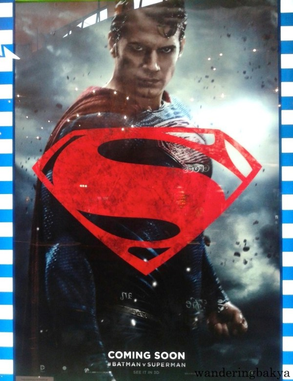 Poster of Batman v Superman: Dawn of Justice's Superman (Henry Cavill). Superman looks like that 95% of the film.