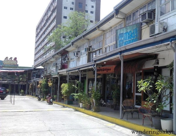 Some of the shops inside Cubao Expo