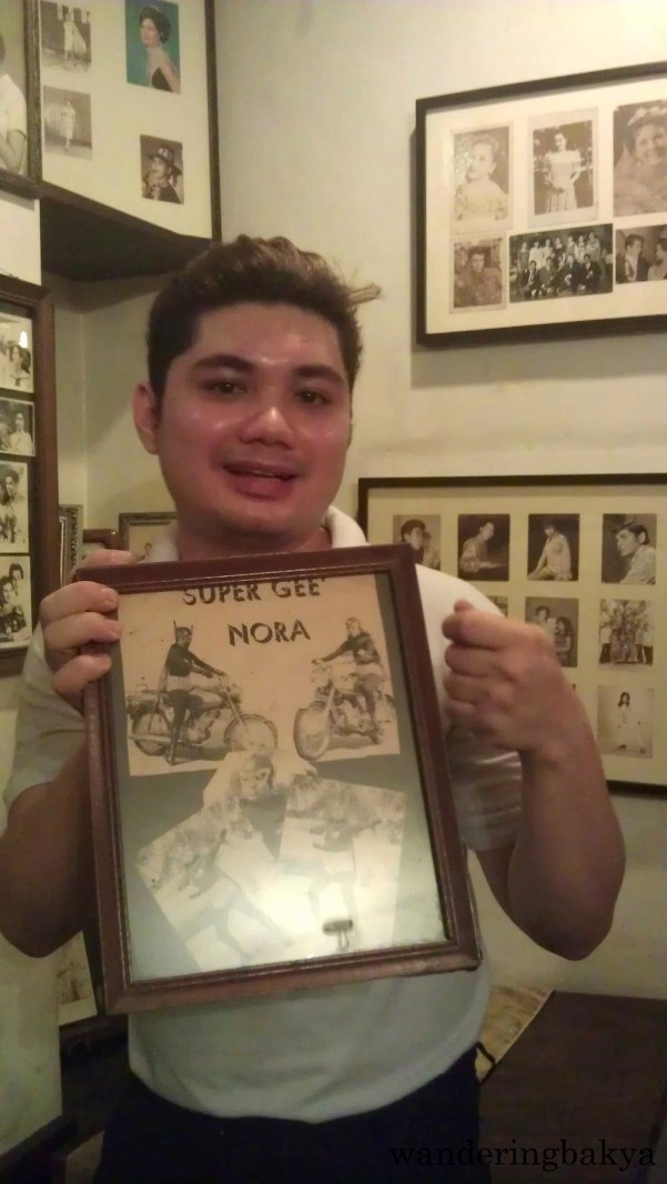 A poster of Nora Aunor's Super Gee. Aunor is the Superstar of Philippine movie industry.