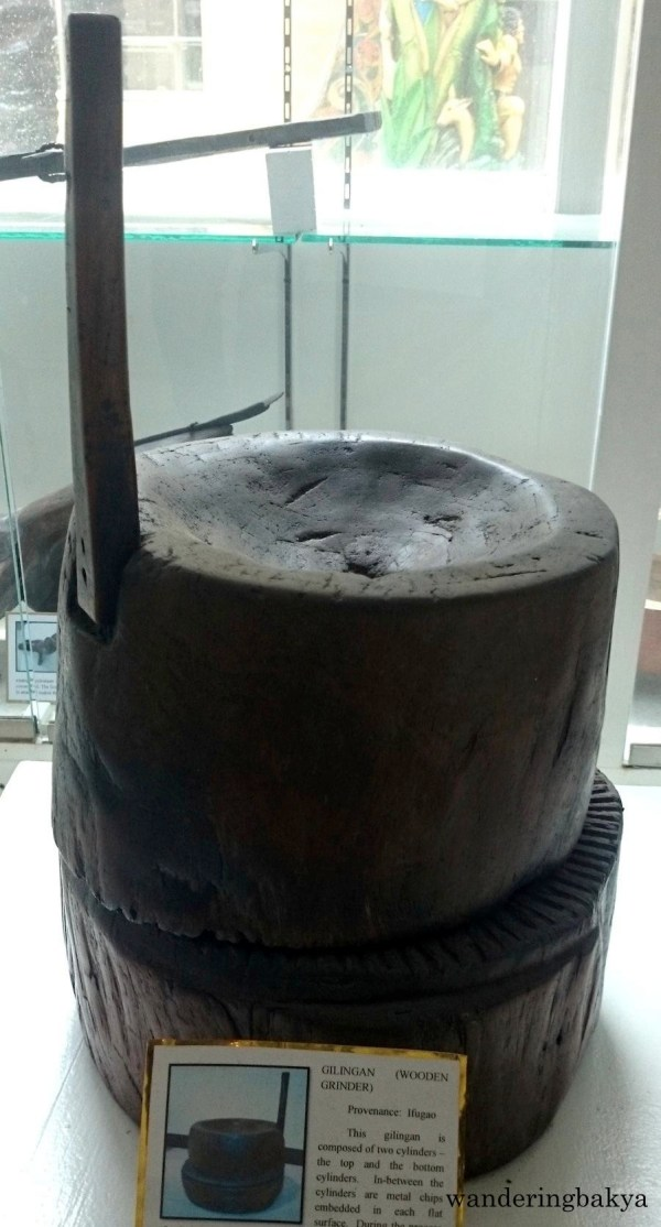 Gilingan (Wooden Grinder) from Ifugao Province. Photo by SPRDC.