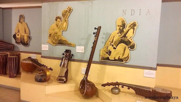 Cultural Center of the Philippines collection of Indian Traditional Musical Instruments