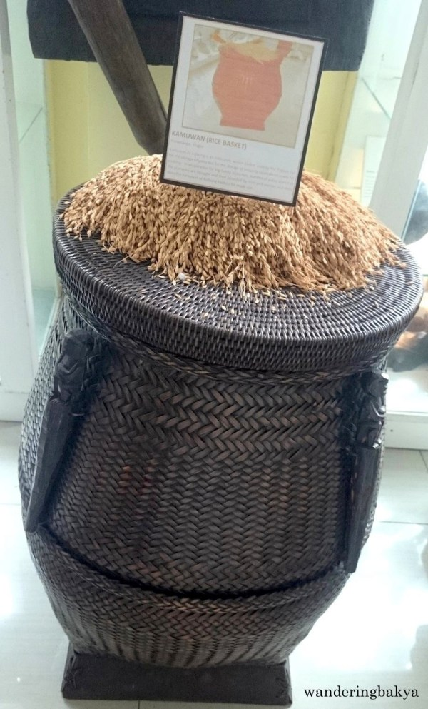 Kamuwan (Rice Basket) from Ifugao Province. Photo by SPRDC.