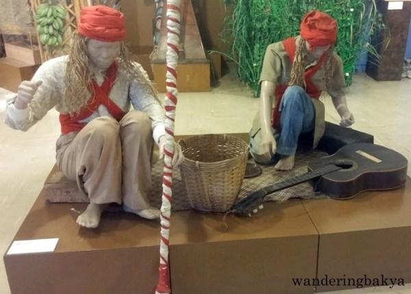 Samba, healing and harvest ritual of Kiniray-a (Antique)
