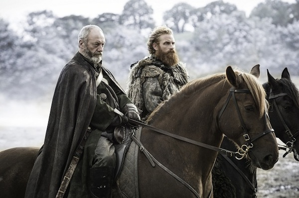 Game of Thrones' Ser Davos Seaworth (Liam Cunningham) and Tormund Giantsbane (Kristofer Hivju). Photo from dnaindia.com