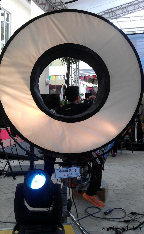 RSVP Film Studios' Giant Ring Light