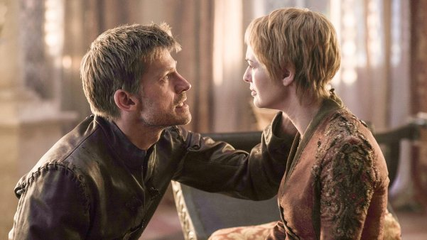 Game of Thrones' Ser Jaime Lannister (Nikolaj Coster-Waldau) and twin and lover Cersei Lannister (Lena Headey). Photo from independent.co.uk