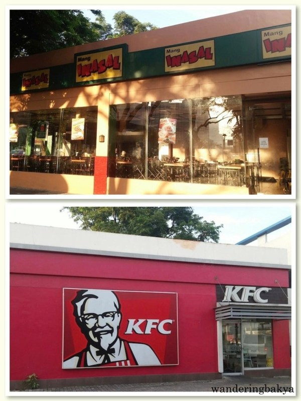 Mang Inasal and KFC in Harbour Square